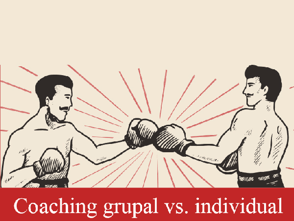 Coaching grupal vs individual